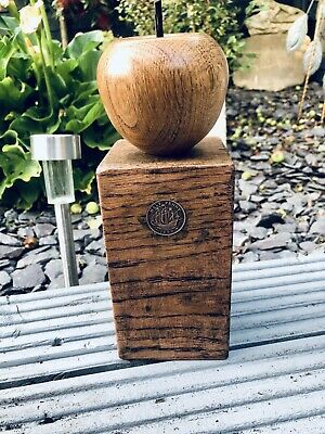 Antique Oak Apple Doorstop Ornament