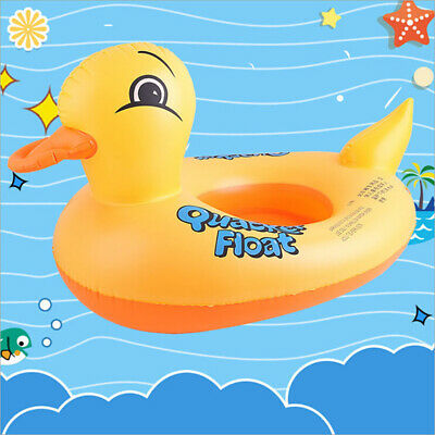 Duck float kids inflable bebé niño nadar nadar asiento piscina animal anillo