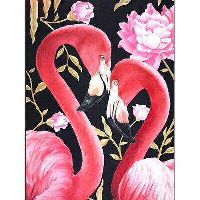 Fashion DIY 5D Diamond Painting Cartoon Flamingos Full drill Embroidery T2158