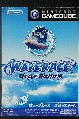 Wave Race Blue Storm Nintendo GameCube Complete in Box Japan Import Game