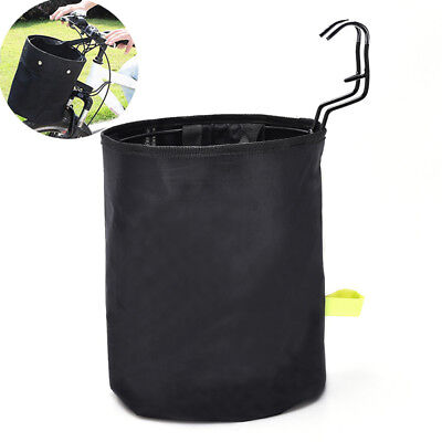 Bicycle Front Basket Carrier Bike Foldable Storage Bag Basket Front Carrie XM