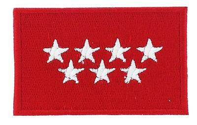 Patch embroidered Flag Tennessee Thermoadhesive USA AMERICAN UNITED STATES NEW