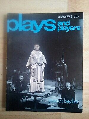 Plays and Players - October 1972