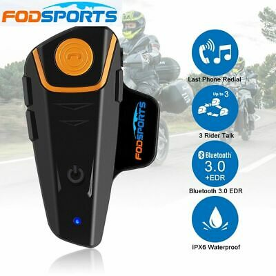 BT-S2 Bluetooth Motorrad Intercom Headset Helm Gegensprechanlage Sprechanlage