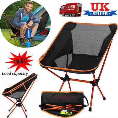 Outdoor Camping Folding Chair Garden Director Fishing Picnic Seat Beach Chairs