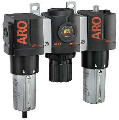 "ARO C38341-810 Filter/Regulator/Lub., 1/2"" NPT, 150 cfm"