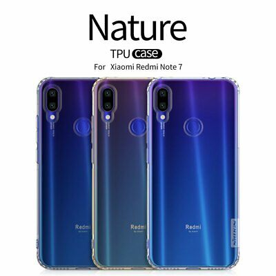 Nillkin Nature Clear TPU Soft Case Cover for Xiaomi Redmi Note 7 Pro / Note 7