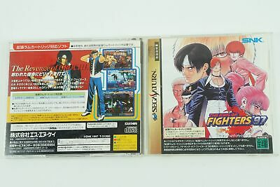 The King of Fighters 97 SS Snk Sega Saturn From Japan