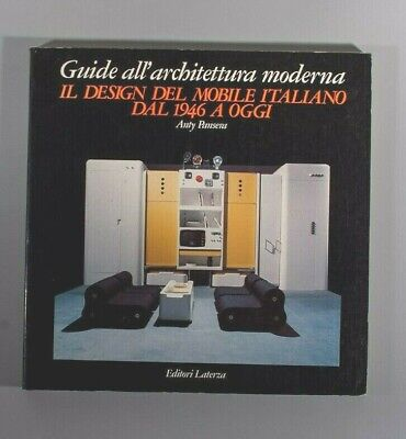 Anty Pansera Il design del mobile italiano dal 1946  italian furniture lighting