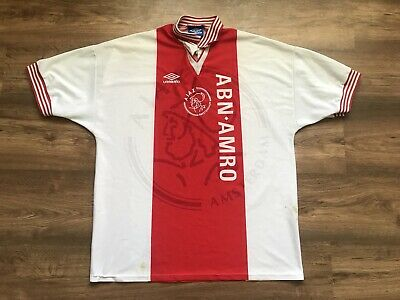 Vintage Ajax Amsterdam Holland 1995/1996 Home Football Shirt Jersey Maglia Umbro
