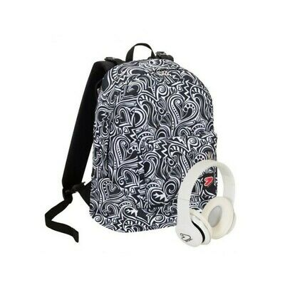 SEVEN The Double project - doubleface backpack Maze Girl White