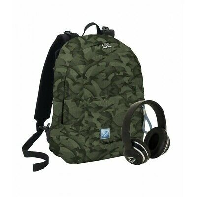 SEVEN The double special edition - reversible backpack - military green color