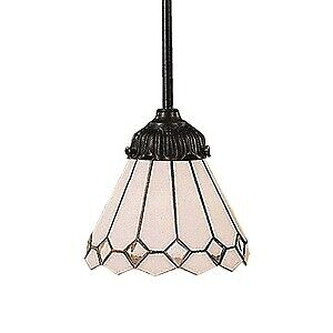 Elk Lighting-078-TB-04-Mix-N-Match - One Light Pendant  TFB: Tiffany