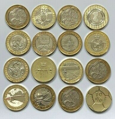 £2 Coins Two Pounds Uk & Iom Olympic Mary Rose Commonwealth Bible D Day Generals