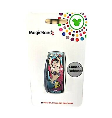 Disney Parks Magic Band Little Mermaid 30th Anniversary New in Package