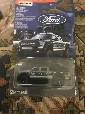2019 Matchbox Ford Truck Series '17 Ford Sky Jacker Super Duty F-350 Police