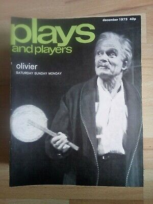 Plays and Players - December 1973