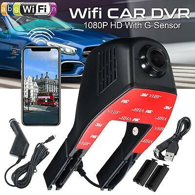 1080P Wifi Car DVR Front Dash Cam Camera Video Recorder G-Sensor