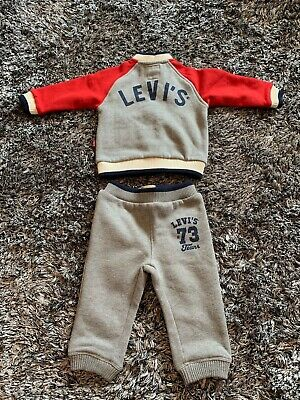 Worn Once - Baby Boys Levis Tracksuit - Age 9 Months