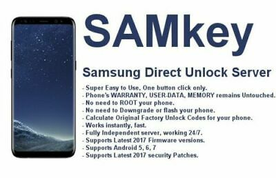 Samkey 3 Credits Unlock Samsung Phones In Few Seconds ,No Root No Need To Flash