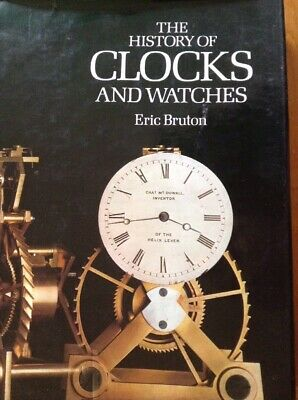 The History Of Clocks & Watches 288 Page Hardback Large Coffee Table Book VGC