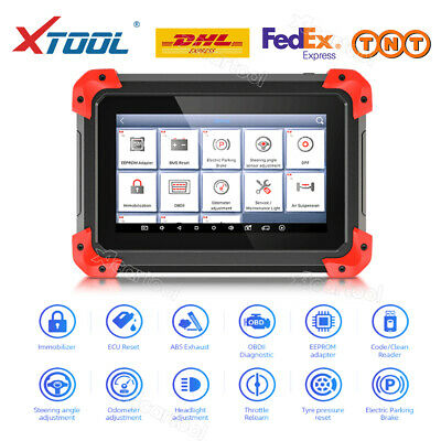 XTOOL X-100 PAD Tablet OBD2 Programmer with EEPROM Adapter OBD2 PIN Code Reading