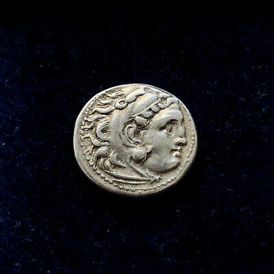 ++Extra grade Kingdom of Macedon. Alexander III 'the Great' AR Drachm ver:1++