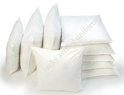 """Hollow Fiber Cushion Pads  Inner Inserts Fillers Scatters 16 18 20 22 24 26 30"""""""