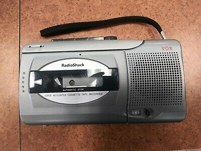Radio Shack CTR-123 Voice Activated Cassette Recorder Very Rare Tested Freeship