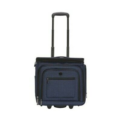 """Travelers Club Unisex  16"""" Top Expandable Softside Rolling Underseater"""