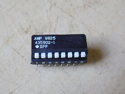 1998 Qty 112 NOS AMP 8 Position Dip Switches 435802-1