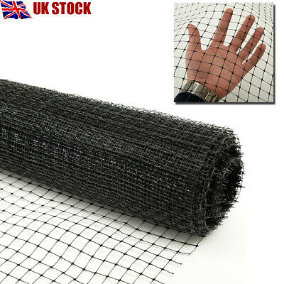 Plastic Insulation Support Netting Garden Mesh Animals Fences 50m/100m Long UK