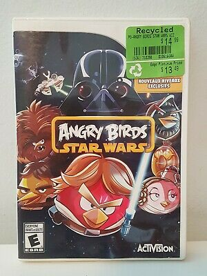 Angry Birds Star Wars - Nintendo Wii Game - No Manual