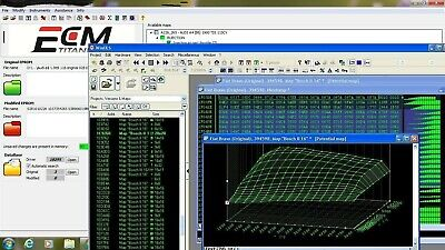 NEW CHIP TUNING SOFTWARE Titanium + 26106 drivers + WinOls PRO + Stage1 Stage2