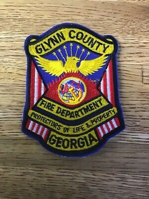 Rescue Badge NEW Albany Georgia Fire Dept patch Y-5-4