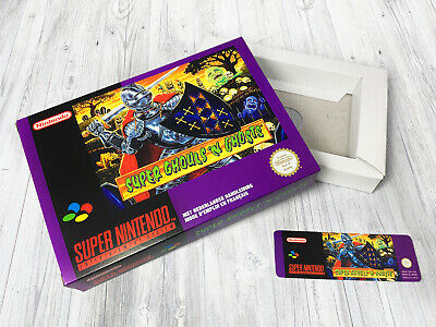 Boite SNES / Box (+ extra) : Super Ghouls'n Ghosts