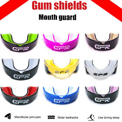 CFR Boxing Mouth Guard MMA Gum Shield Rugby Teeth Grinding Protection Sports MYG