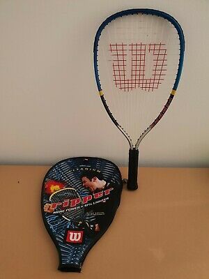 Wilson Ripper Titanium Racquetball  Racket XS 3-7/8  With Cover Cliff Swain