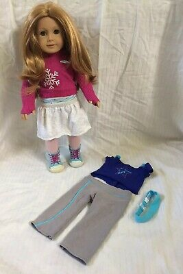 Mia 2008 American Girl Doll Meet Outfit Blue Star Underwear Panty ONLY Retired