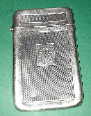 Venice Simplon Orient Express Silver Hallmarked Business Card Case