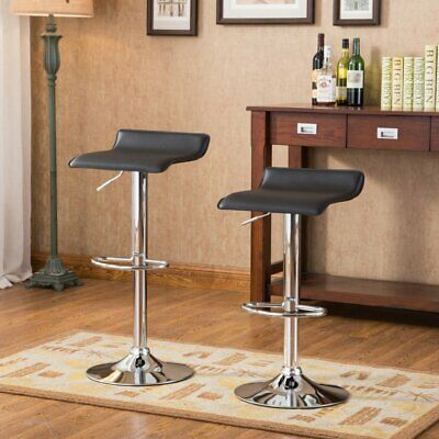 Pleasant Roundhill Furniture Adjustable Height Wood And Chrome Metal Bralicious Painted Fabric Chair Ideas Braliciousco