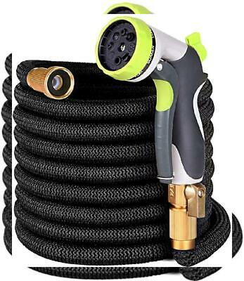 Ufunga 50ft Garden Hose - Upgraded Expandable Water with Double 50 FT