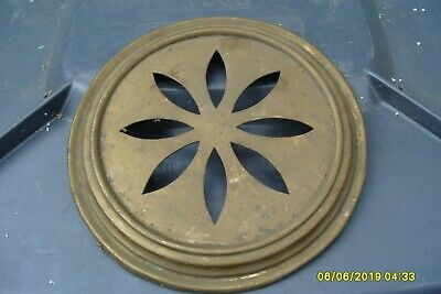 "Clock Parts  Large Brass Back Door  Cover  8 ""  Wide"