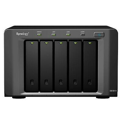 Synology DiskStation DS1511+ 5 Bay Network Attached Storage NAS Enclosure