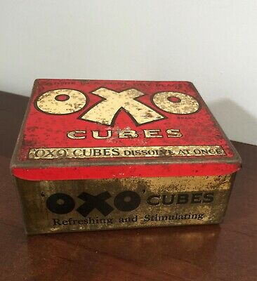 Vintage Oxo Tin Box