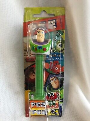 PEZ Candy Dispenser Buzz Lightyear On Card Pixar Toy Story