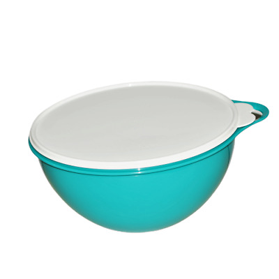 Tupperware Thatsa Bowl for Mixing Serving 19 Cups Teal