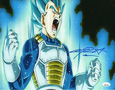 Chris Sabat Autograph 11x14 Dragon Ball Z Vegeta Photo Signed JSA COA 4