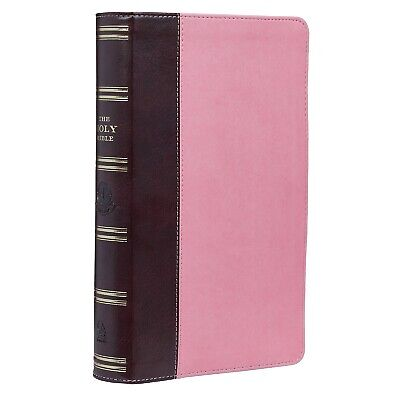 KJV Holy Bible Giant Print Pink and Brown Red Letter Edition BRAND NEW!!!