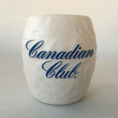 Canadian Club - Over Beer? Stubby Bottle Can Holder Cooler
